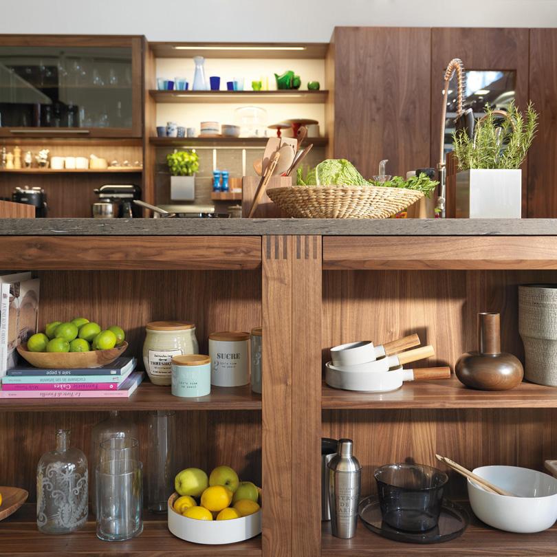 Arredamento mobili cucina in legno naturale bottega del for Mobili cucina italiana