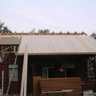 costruzione tetto ventilato con isolante  naturale
