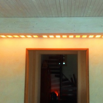 lampada in mattoni di salgemma himalayano