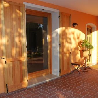 29)porta finestra alzante scorrevole in parete