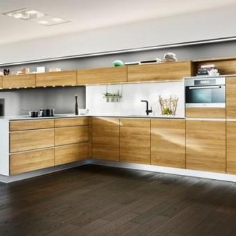 cucina in legno di quercia