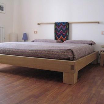 letto rovere